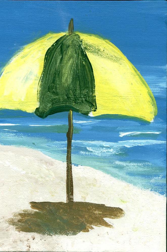 M's umbrella