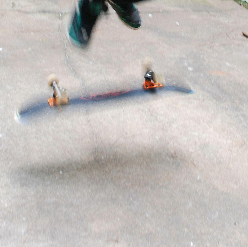 J skateboarding