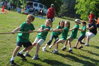 1st grade tug of war